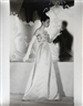 Louise Dahl-Wolfe, Model in Wedding Gown