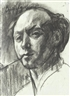 David Bomberg, Self portrait