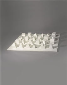 FORMS DERIVED FROM A CUBE by Sol LeWitt