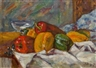 Vincenc Benés, Still Life with Peppers