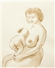 John Currin, Woman and Baby
