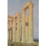 Louis Comfort Tiffany, Roman Ruins of Corinthian Columns