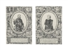 Hendrick Goltzius, 2 WORKS; WILLIAM OF ORANGE; AND CHARLOTTE DE BOURBON (BARTSCH 178-179; HOLLSTEIN 203-204; STRAUSS 142-143)