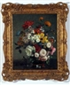 Stuart Scott Somerville, Still Life Study of Mixed Flowers in a Vase