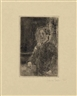 James Ensor, Mon Portrait Squelettisé (Skeletonized Self-Portrait) (D., Cr., T., E. 67)