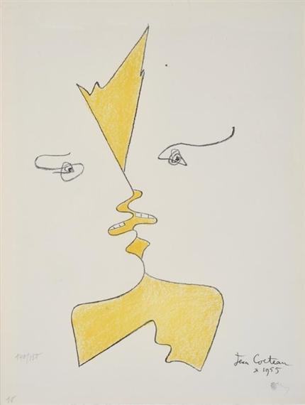 Cocteau Jean | Alfred de Musset et George Sand ( Venise #16