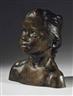 Camille Claudel, La petite châtelaine, version à la natte droite