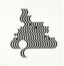 Bridget Riley, UNTITLED (FRAGMENT 2)