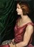 Emile Bernard, PORTRAIT DE CATHERINE SCHWARTS