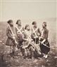 Roger Fenton, Ismail Pasha & Attendants