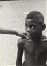 Roy DeCarava, KIDS GOD BLESS FROM BELAFONTE, NEW YORK 19 (BOY WITH WOMAN'S HAND ON SHOULDER)