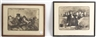 Honoré Daumier, Set of 4 ; French Courtroom ; Legal Scenes