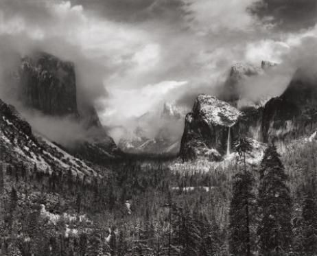 Adams Ansel | Clearing Winter Storm Yosemite National Park ... Ansel Adams Clearing Winter Storm Analysis