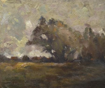 Autumn Landscape By W.B. McInnes