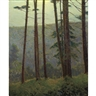 Charles Warren Eaton, In Pennsylvania Woods (Silhouette Pines)