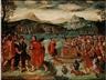 Lucas Gassel, Die Israeliten Opfern Vor Dem Konig Ahab