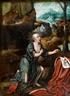 Lucas Gassel, Saint Jerome in a Landscape