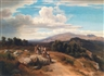 Anton Romako, Spanish Landscape