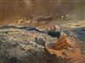 Giovanni Segantini, Jeremiah lamenting the destruction of Jerusalem (Profeta ebreo che lamenta la distruzione di Gerusalemme)