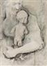 Mervyn Peake, Figure holding a Baby