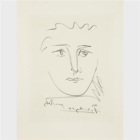Picasso Pablo   POUR ROBY (FROM L\'AGE DE SOLEIL BY ROBERT J. GADET ...