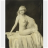 Alfred Cheney Johnston, ZIEGFELD NUDE WITH BOA