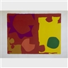 Patrick Heron, SIX IN VERMILLION WITH GREEN IN YELLOW
