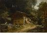 Carl Spitzweg, Bauernhaus Im Walde