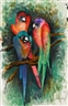 Malcolm Morley, Three Parrots