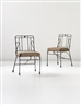 Diego Giacometti, 2 works; Side chairs