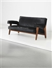 Pierre Jeanneret, Le Corbusier, Sofa, model no. LC/PJ-SI-42-A/B, designed for the High Court and Assembly, Chandigarh