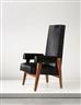 Pierre Jeanneret, Le Corbusier, Judges,  armchair, model no. LC/PJ-SI-43-A, designed for the High Court, Chandigarh