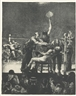 George Bellows, BETWEEN ROUNDS, LARGE, FIRST STONE (MASON 25)