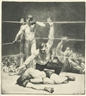 George Bellows, COUNTED OUT, FIRST STONE (M. 94)
