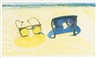 Wayne Thiebaud, BEACH GLASSES