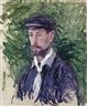 Gustave Caillebotte, Portrait d'Eugène Lamy