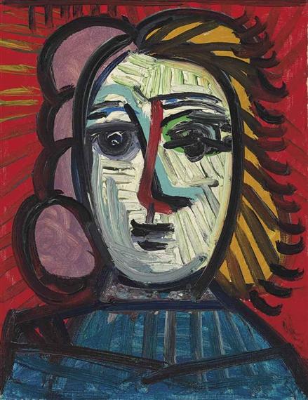 Picasso Pablo | Buste de femme (1944) | MutualArt