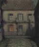 Henri Eugène Augustin le Sidaner, La maison de l'aveugle au clair de lune