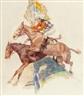 Arthur E. Becher, Steeple Chase