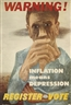 Ben Shahn, WARNING! INFLATION MEANS DEPRESSION