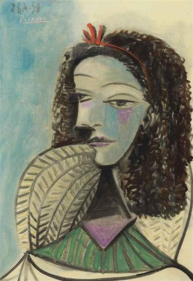 Picasso Pablo | Buste de femme (1938) | MutualArt