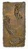 Giacomo Manzù, Studio per un pannello per la porta della Basilica di San Pietro, Roma: La Morte Della Vergine I