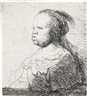 Rembrandt, The White Negress