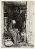 James McNeill Whistler, 3 Works: La Vieille aux Loques; La Marchande de Moutarde & Rag Pickers, Quartier Mouffetard
