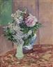Gustave Caillebotte, LILAS ET PIVOINES DANS DEUX VASES