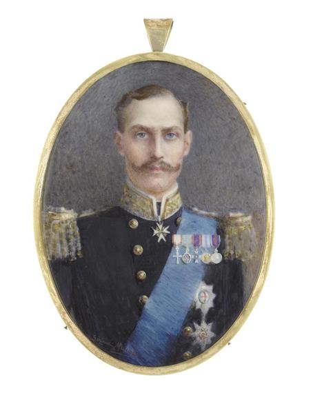 Artwork By Gertrude Massey Haakon VII 1872 1957 King Of Norway