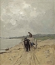 Anton Mauve, Zandrijder: the sand-cart
