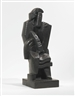 Jacques Lipchitz, SEATED MAN WITH CLARINET