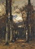 László Paál, FOREST AT FONTAINEBLEAU
