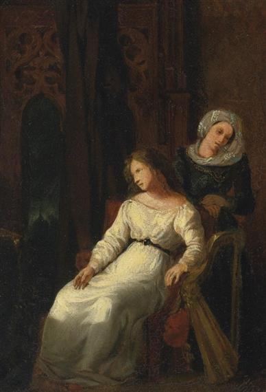 Desdemona and Emilia